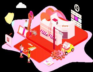 成立营销中心,辣条产品走进互联网。